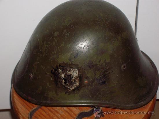 Militaria: CASCO HOLANDES M-34 2ª GUERRA MUNDIAL - Foto 5 - 29203097