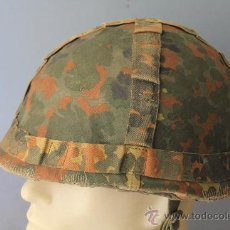 Militaria: 1 CASCO ALEMAN MOD. DEL 1960 BUNDESWEHR BODENTRUPPEN.. Lote 30663332