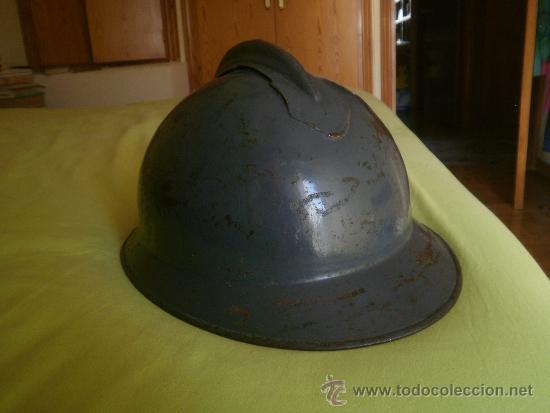CASCO ADRIÁN ITALIANO MODELO LIPPMAN Mº 1916. GUERRA CIVIL CTV (Militar - Cascos Militares )