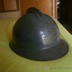 Militaria: CASCO ADRIÁN ITALIANO MODELO LIPPMAN Mº 1916. GUERRA CIVIL CTV. Lote 31228250