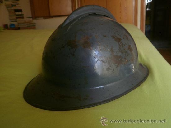 Militaria: Casco adrián italiano modelo Lippman mº 1916. Guerra Civil CTV - Foto 3 - 31228250