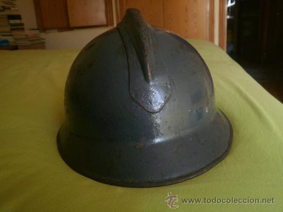 Militaria: Casco adrián italiano modelo Lippman mº 1916. Guerra Civil CTV - Foto 4 - 31228250