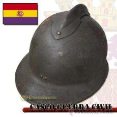 Militaria: CASCO ESPAÑOL. GUERRA CIVIL ESPAÑOLA. Lote 26628068