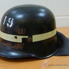 Militaria: CASCO DE BOMBERO ALEMAN. Lote 32640310