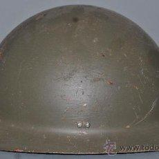 Militaria: ANTIGUO CASCO MODELO ADRIAN 1926 (SIN EL INTERIOR NI CIMERA). Lote 50616702