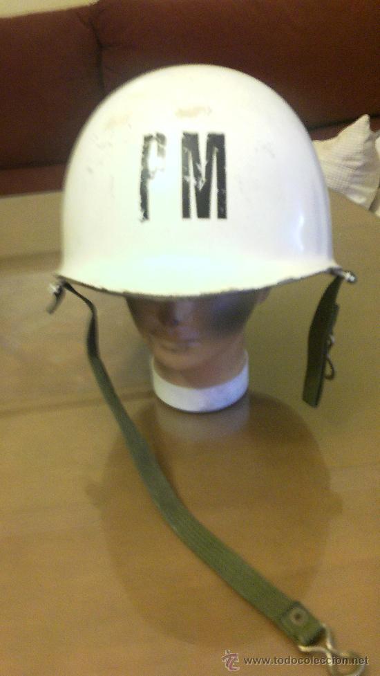 CASCO MODELO M1. POLICIA MILITAR (Militar - Cascos Militares )