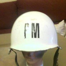 Militaria: CASCO MODELO M1. POLICIA MILITAR. Lote 33379762