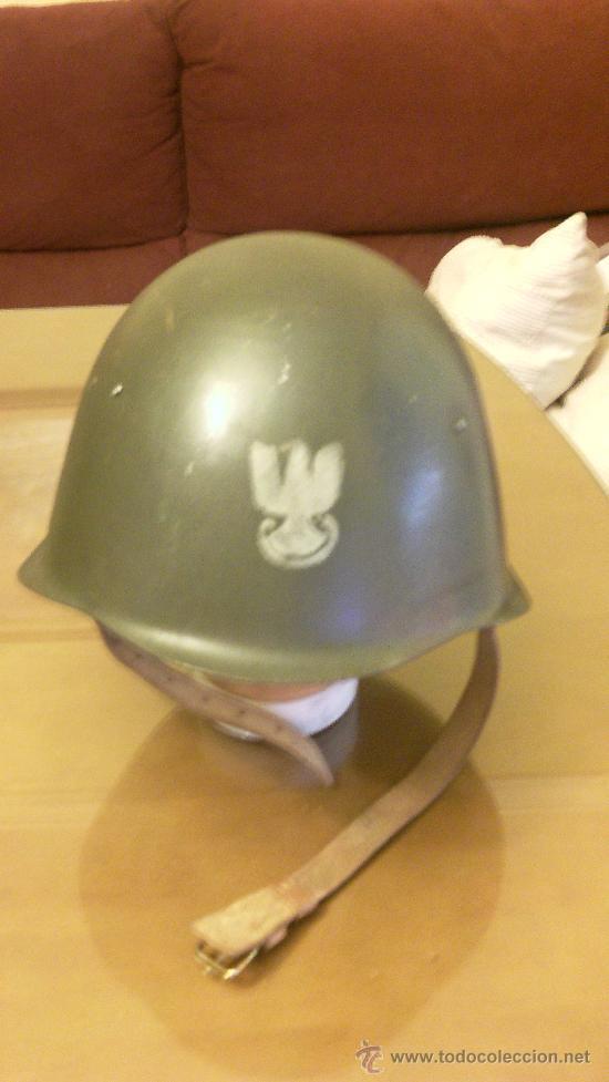 CASCO POLACO. MODELO SOVIETICO (Militar - Cascos Militares )
