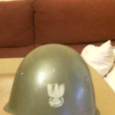 Militaria: CASCO POLACO. MODELO SOVIETICO. Lote 33379844
