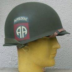 Militaria: CASCO M1 AIRBORNE 82TH DIV. ALL AMERICANS. Lote 91259413
