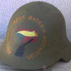 Militaria: CASCO ESPAÑOL M34 BRIGADAS CHECAS. Lote 224417963