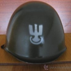 Militaria: CASCO MILITAR POLACO MODELO WZ-67. Lote 39212257