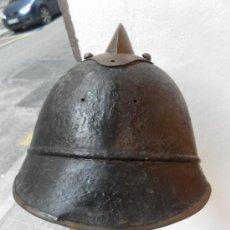 Militaria: ANTIGUO CASCO DE BOMBEROS.. Lote 33965018