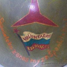 Militaria: CASCO ESPAÑOL M34 TRUBIA - VOLUNTARIOS ESLOVACOS. Lote 253410065