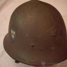 Militaria: CASCO SUECO M-21/18. Lote 35108502