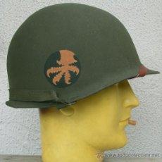 Militaria: CASCO M1 17TH AIRBORNE DIV.. Lote 46988900