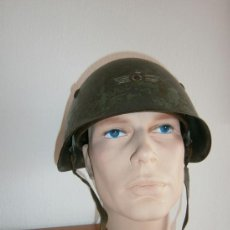Militaria: CASCO ITALIANO M33 GUERRA CIVIL ESPAÑOLA. Lote 37065203