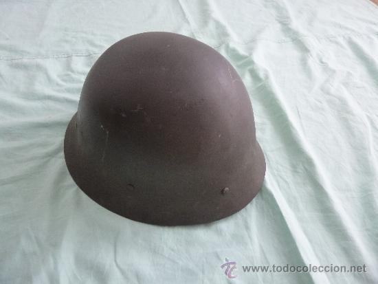 Militaria: casco metal sueco modelo 1921.completo de interior y barbuquejo.. . - Foto 2 - 39238055