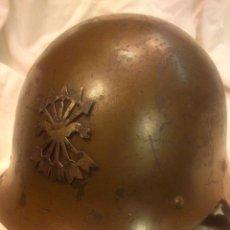Militaria: CASCO TRUBIA M-26 FALANGISTA. Lote 39723864