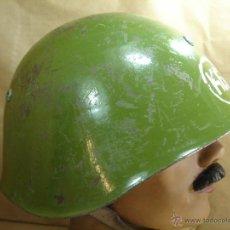Militaria: ANTIGUO CASCO MILITAR - K6 - PROBABLEMENTE UNION SOVIETICA O BULGARIA M 72 - BULGARO. Lote 40602614