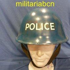 Militaria: REINO UNIDO. CASCO MK IV. PINTURA AZUL. POLICÍA.. Lote 41281042
