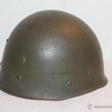Militaria: CASCO MILITAR 'M.P.M.A. MARSEILLE 1953' - PLÁSTICO DURO. Lote 42160651