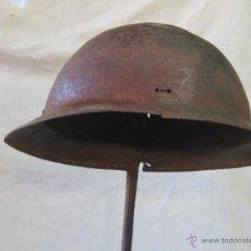 Militaria: CASCO ITALIANO DE LA GUERRA CIVIL ESPAÑOLA. Lote 42336908
