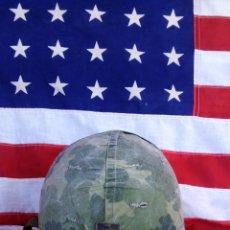 Militaria: *** AUTENTICO CASCO GUERRA AEROTRANSPORTADA DEL VIETNAM ***US*** USA ***. Lote 42450190