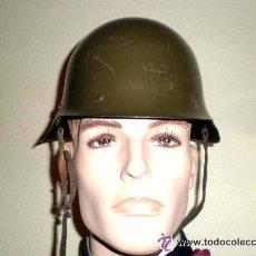 Militaria: CASCO MODELO M 21 TRUBIA CON ALAS ORIGINAL. Lote 43232900