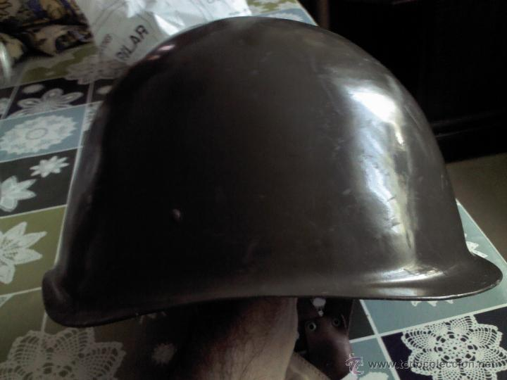 CASCO DE ACERO POSIBLEMENTE RUSO EN BUEN ESTADO (Militar - Cascos Militares )