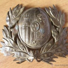 Militaria: CHAPA DE CASCO DE GENERAL - MODELO DE 1885. Lote 44911162