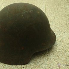Militaria: CASCO ORIGINAL ESPAÑOL GUERRA CIVIL CON INTERIOR ORIGINAL. Lote 45718439