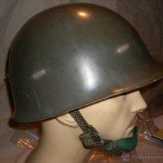 Militaria: POLICIA ARMADA CASCO ANTIDISTURBIOS PLASTICO. Lote 45976708