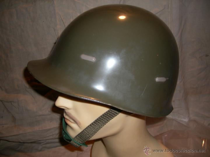 Militaria: POLICIA ARMADA CASCO ANTIDISTURBIOS PLASTICO - Foto 3 - 45976708