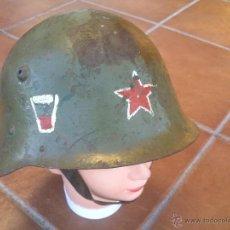 Militaria: CASCO EJERCITO BULGARO.. Lote 66053766