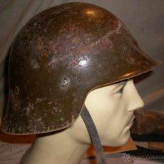 Militaria: CASCO M 26 GUERRA CIVIL ESTADO ORIGINAL. Lote 48420921