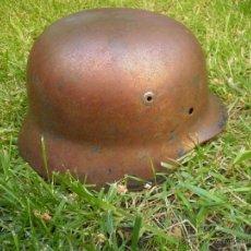 Militaria: CASCO ALEMÁN M-35. LEGIÓN CONDOR. Lote 49435860