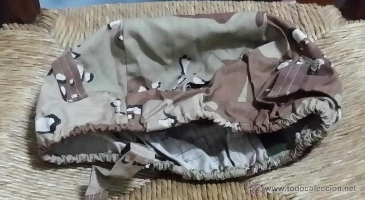 FUNDA CASCO MARTE, TALLA P, MIMETIZADO ARIDO ANTIDESGARRO, 6 COLORES, (Militar - Cascos Militares )