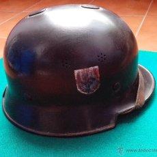 Militaria: CASCO ORIGINAL ALEMAN M-34 DE 2ª GUERRA MUNDIAL. Lote 49687473
