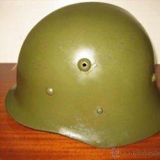 Militaria: CASCO MILITAR BULGARIA MODELO M-36-B1 SIN REBORDE. SEGUNDA GUERRA MUNDIAL.. Lote 50352771