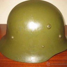Militaria: CASCO MILITAR BULGARIA MODELO M-36-A CON REBORDE. SEGUNDA GUERRA MUNDIAL.. Lote 50352873