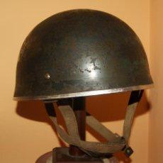 Militaria: CASCO DE PARACAIDISTA BRITANICO, MODELO HSAT MARK II, PARACA, COMPLETO, 2ª GUERRA MUNDIAL 1939/1945.. Lote 50460754
