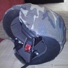 Militaria: CASCO CON FUNDA DE CAMUFLAJE. Lote 51390700