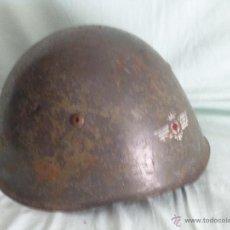 Militaria: CASCO M-33 ITALIANO ..ALAS AVIACION....GUERRA CIVIL..... Lote 51504481