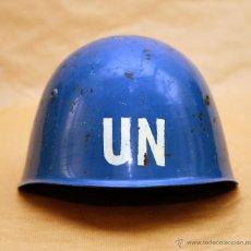 Militaria: CASCO ONU - EJERCITO BULGARIA - CASCOS AZULES - FUERZAS DE INTERPOSICION. Lote 53515455