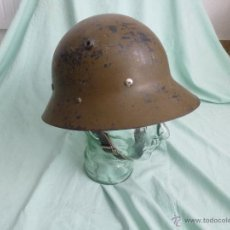 Militaria: CASCO CHECO GUERRA CIVIL..EJERCITO POPULAR..REPUBLICANO..REPUBLICA... Lote 54730927