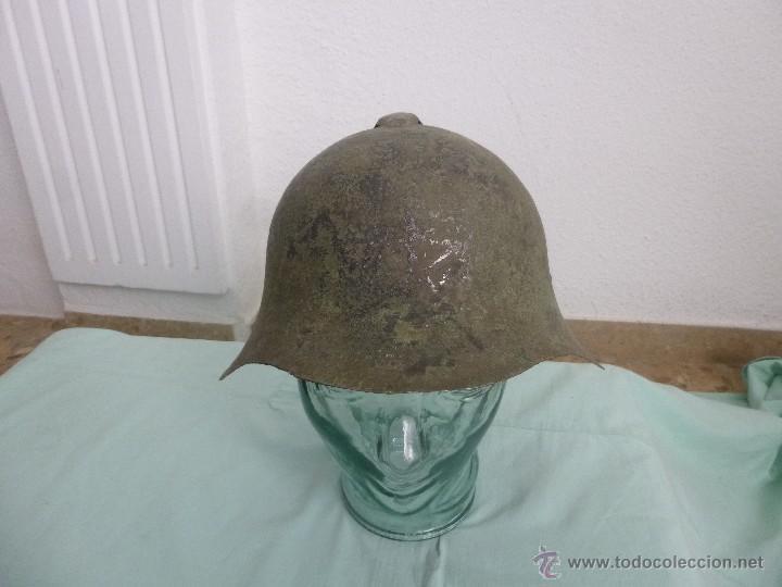 Militaria: casco ruso ..guerra civil ..ejercito popular..republica..republicano. - Foto 2 - 55040328