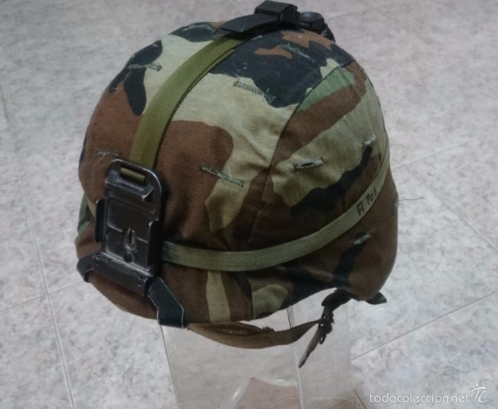 Casco de kevlar pasgt us army con funda woodlan - Vendido en Subasta ... c82aa56fcfe