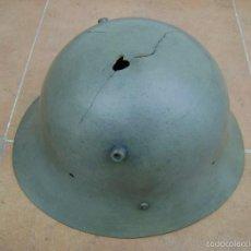 Militaria: CASCO CHECO DE LA GUERRA CIVIL ESPAÑOLA .. Lote 55127114