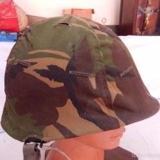 Militaria: CASCO TIPO AMERICANO, CON FUNDA, POSIBLEMENTE HOLANDESA.. Lote 56007938